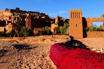 Circuit Maroc kasbah desert Ait Benhaddou