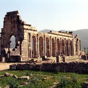 Circuit Maroc Volubilis  ruine romaines