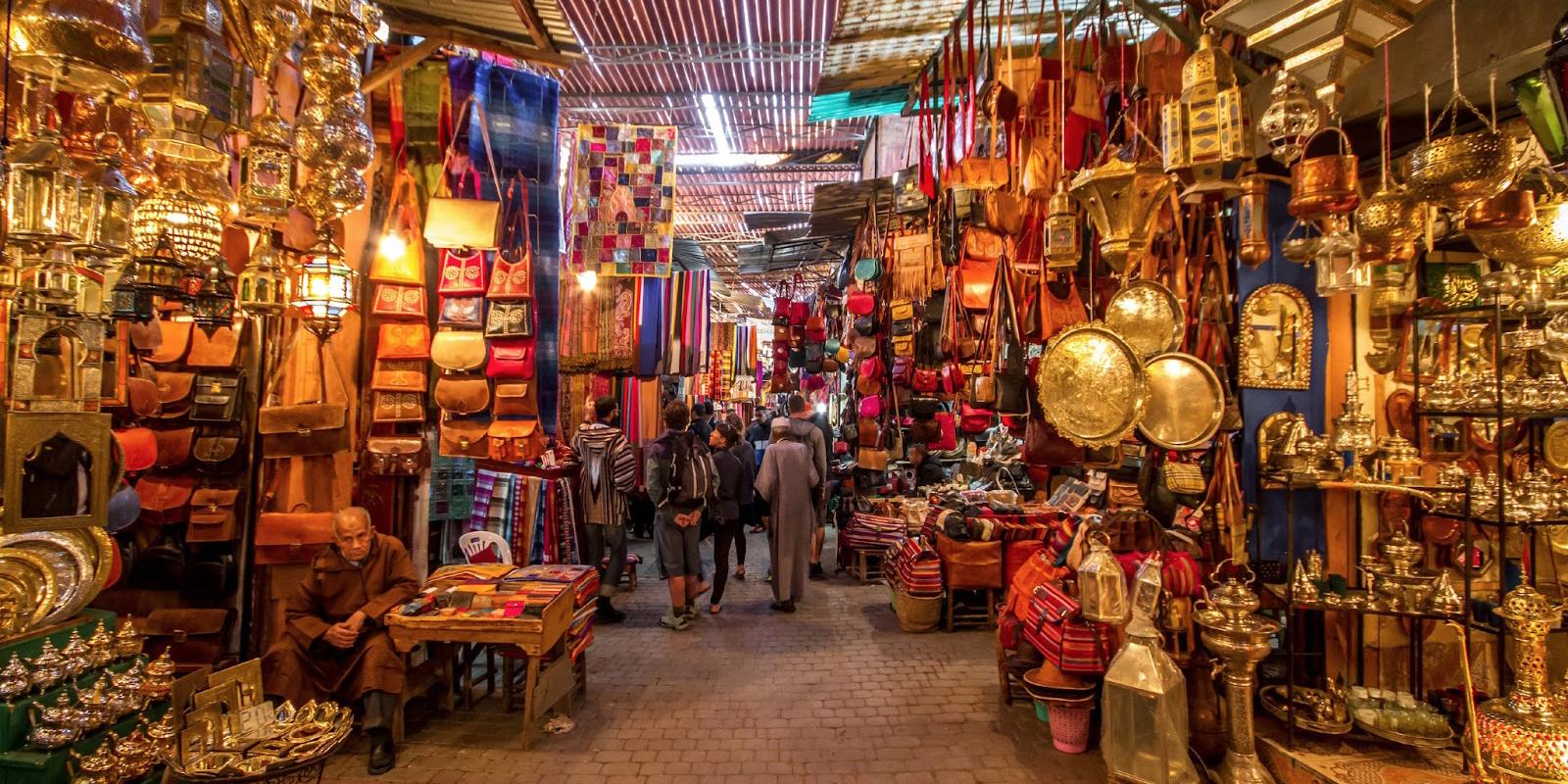 Marrakech : Visite de la Médina et Souks | MTM EXCURSION MAROC